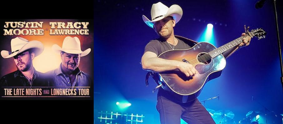 Justin Moore and Tracy Lawrence at Amarillo Civic Center Coliseum